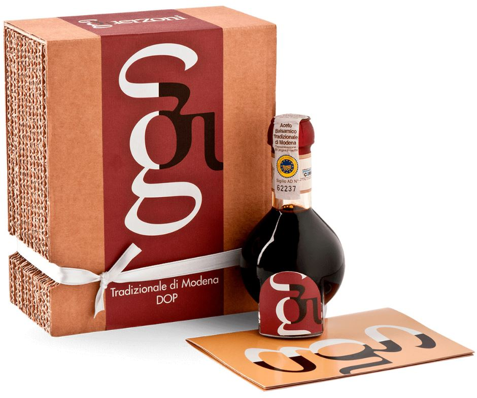 Traditionally Aged Balsamic Vinegar of Medena DOP - Organic and Biodynamic Certified - 100ml