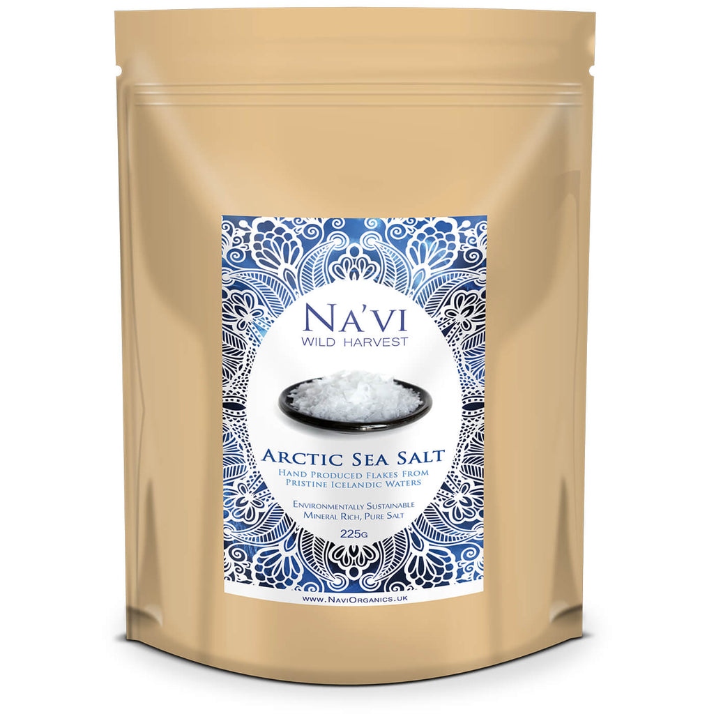 Pure Arctic Sea Salt Flakes - From Pristine Ocean Waters