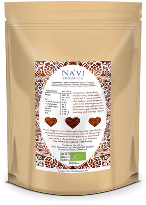 Organic Raw Chocolate Mulberries - Na'vi Organics Ltd