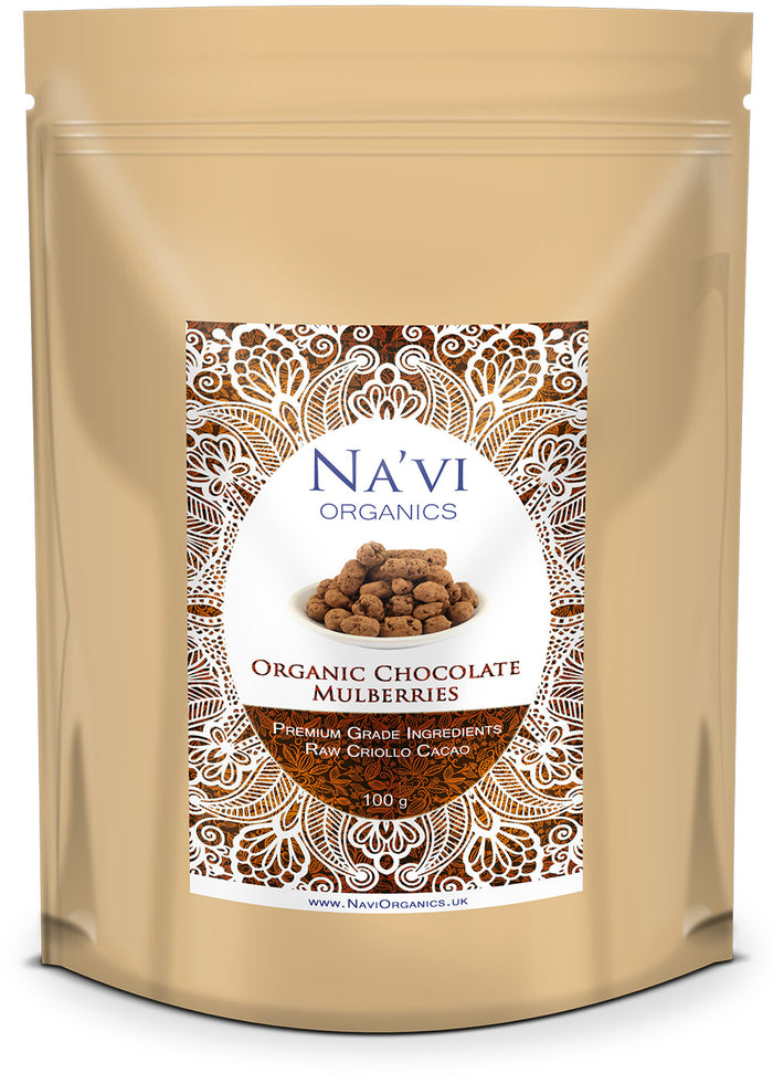Organic Raw Chocolate Mulberries