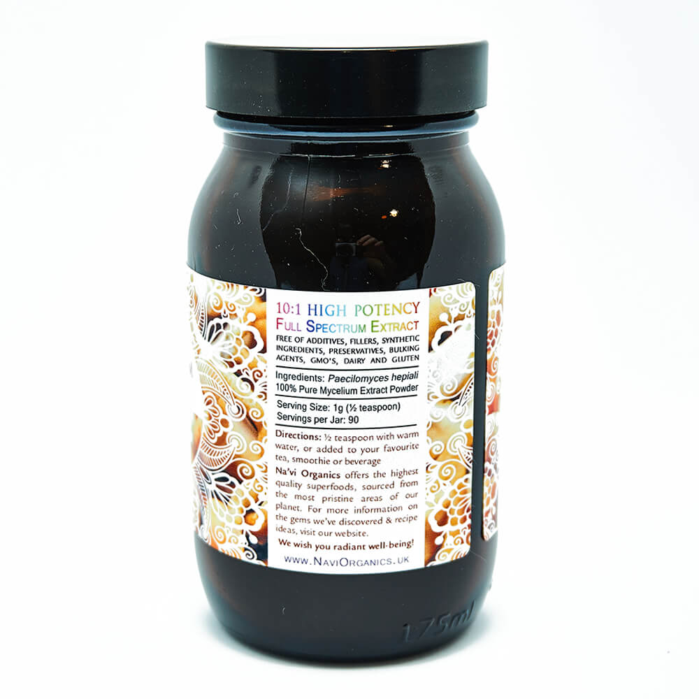 Full Spectrum Cordyceps CS-4 Mycelium Extract Powder - Superior Quality