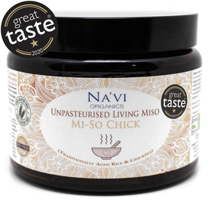 Organic Chickpea (Soy free) - Unpasteurised Living Miso (500g)