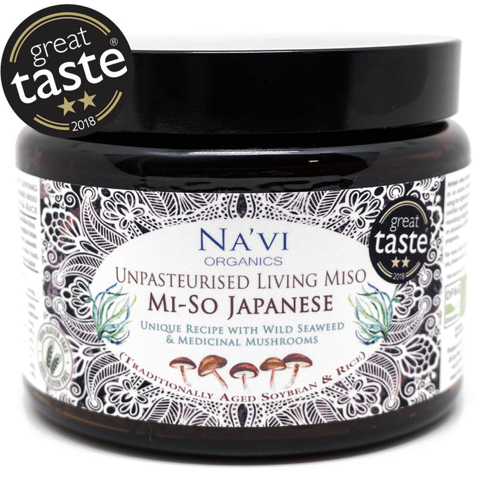Organic Japanese Style - Unpasteurised Living Miso (500g)