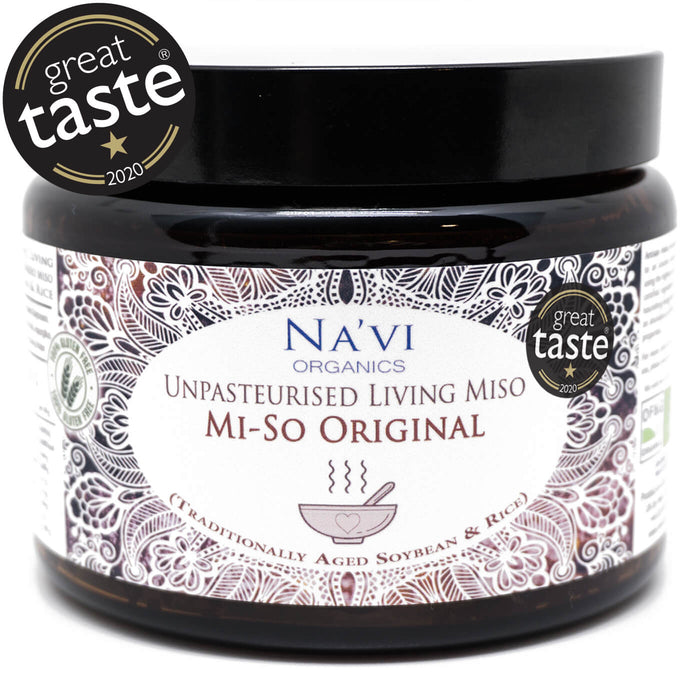 Organic Rice & Soy - Unpasteurised Living Miso (500g)