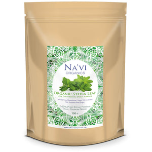 Organic Stevia Rebaudiana Raw Leaf Powder