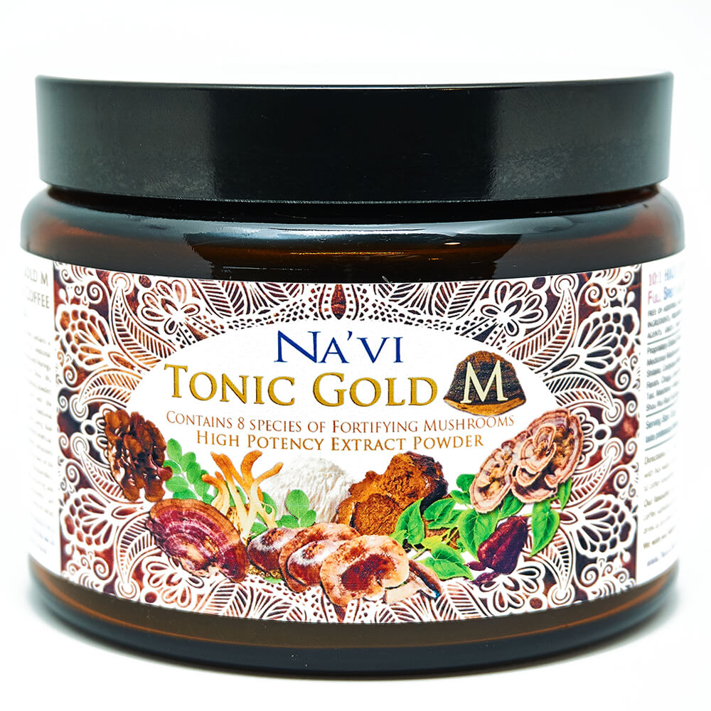 Tonic Gold M - Herbal Coffee - Medicinal Mushroom Elixir