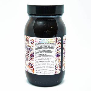 Full Spectrum Turkey Tail Mushroom Extract Powder - Wild Harvested