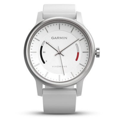 Garmin vivomove Smart Watch - SPORT STYLE WHITE-Geeks Buy Gadgets