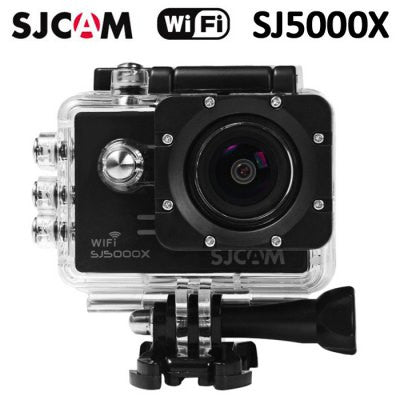Original SJCAM SJ5000X 4K Sport Action Camera ( Elite Edition ) - BLACK-Geeks Buy Gadgets