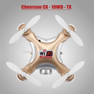 Cheerson CX - 10WD - TX Mini RC Quadcopter - TYRANT GOLD-Geeks Buy Gadgets