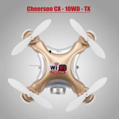 Cheerson CX - 10WD - TX Mini RC Quadcopter  -  TYRANT GOLD