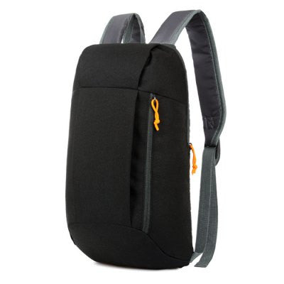 Water-resistant Nylon 15L Ultra-light Leisure Backpack - BLACK-Geeks Buy Gadgets