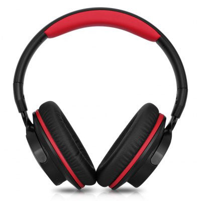 Zinsoko 861 Bluetooth 4.1 Wireless 3.5mm Wired Headphone - RED-Geeks Buy Gadgets