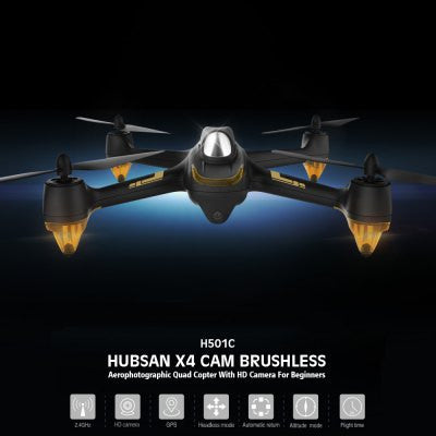 Hubsan X4 H501C Brushless Drone - BLACK-Geeks Buy Gadgets
