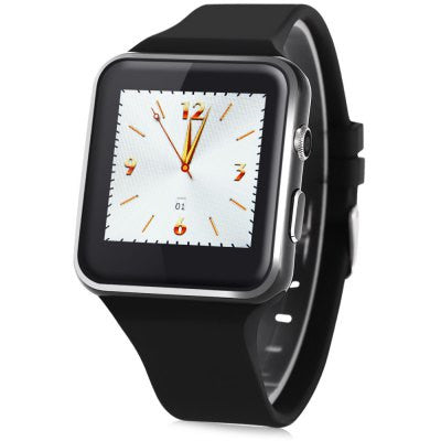 Mifree MIP4 1.54 inch Smartwatch Phone - BLACK-Geeks Buy Gadgets