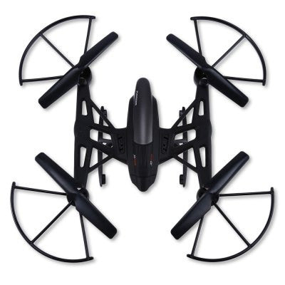 JXD 509W WIFI Quadcopter Headless Mode - BLACK-Geeks Buy Gadgets