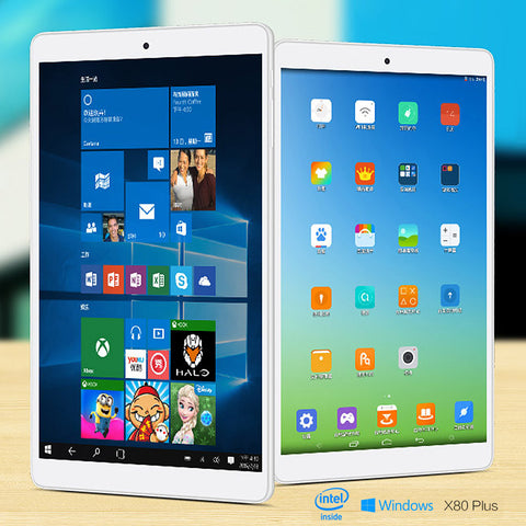 "TECLAST X80 Pro 8"" IPS Screen Win10 Android 5.1-Geeks Buy Gadgets"
