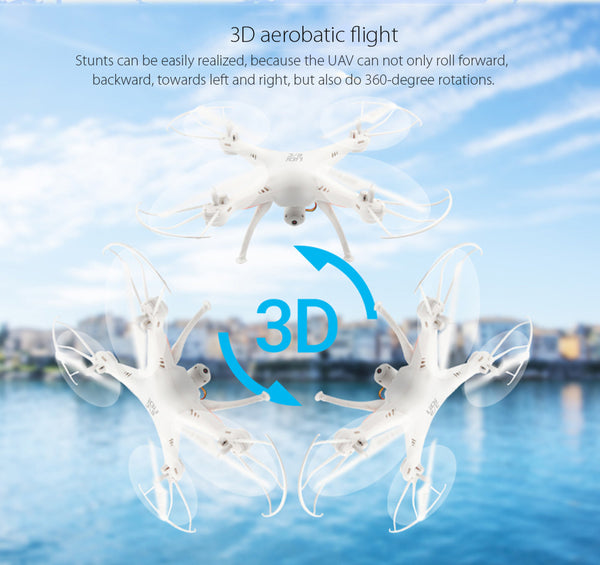 LiDiRC Waterproof RC Quadcopter - WHITE-Geeks Buy Gadgets