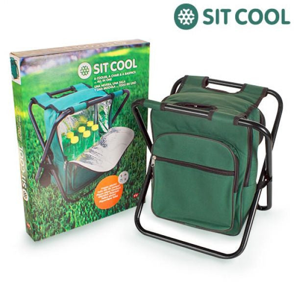 3-IN-1 SIT COOL | FOLDING CHAIR, THERMAL BAG AND RUCKSACK-Geeks Buy Gadgets