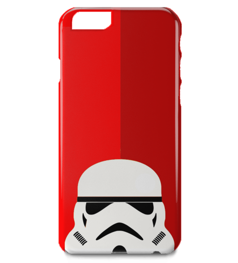 Stormtrooper Red iPhone Case-Geeks Buy Gadgets