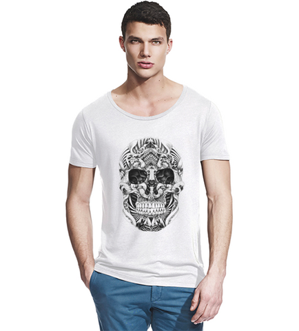 Skull T Shirt (Mens)-Geeks Buy Gadgets