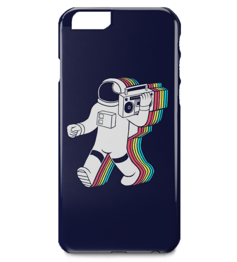 Astronaut Boombox iPhone Case-Geeks Buy Gadgets