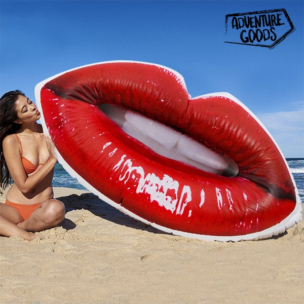 ADVENTURE GOODS INFLATABLE LIPS LILO-Geeks Buy Gadgets