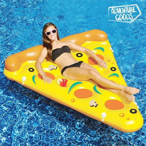 ADVENTURE GOODS INFLATABLE PIZZA LILO-Geeks Buy Gadgets