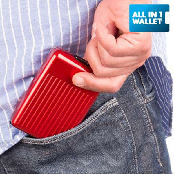 ALL IN 1 ALUMINIUM WALLET-Geeks Buy Gadgets