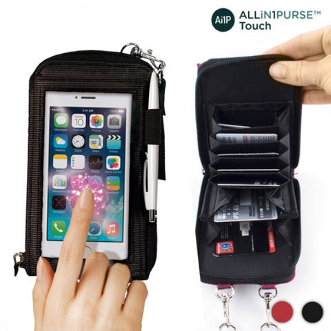 ALL IN 1 PURSE TOUCH WALLET-Geeks Buy Gadgets