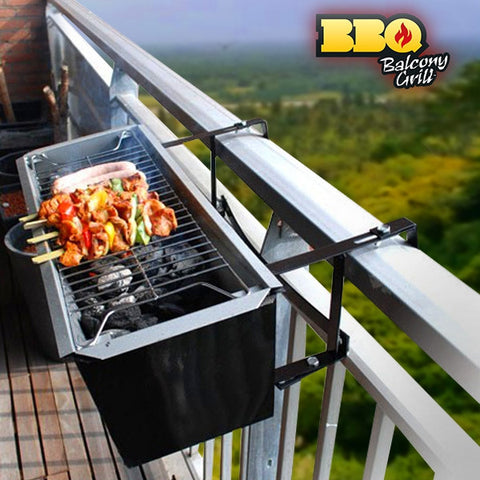 BBQ QUICK BALCONY CHARCOAL BARBECUE-Geeks Buy Gadgets