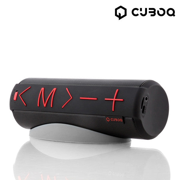 BLUETOOTH SPEAKER WITH CUBOQ CYLINDER STAND-Geeks Buy Gadgets