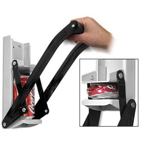 CAN CRUSHER WITH BOTTLE OPENER-Geeks Buy Gadgets