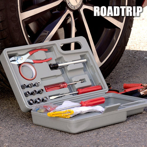 ROAD TRIP EMERGENCY TOOL KIT FOR CARS-Geeks Buy Gadgets