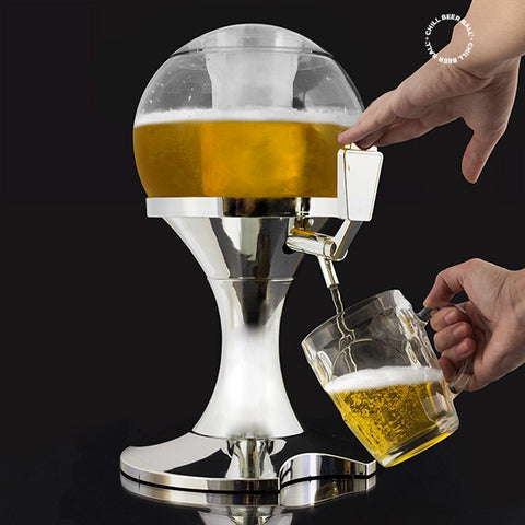 CHILL BEER BALL BEER DISPENSER-Geeks Buy Gadgets
