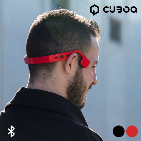 CUBOQ BONE DRIVING BLUETOOTH EARPHONES-Geeks Buy Gadgets