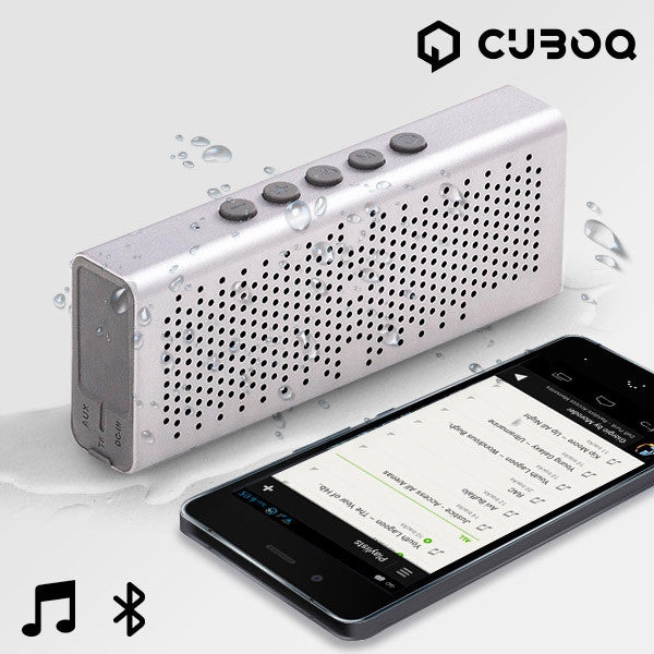 CUBOQ METAL WATERPROOF BLUETOOTH SPEAKER-Geeks Buy Gadgets