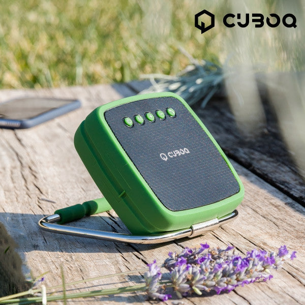 CUBOQ PORTABLE SOLAR POWER BLUETOOTH SPEAKER-Geeks Buy Gadgets