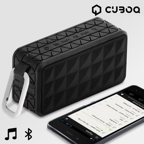 CUBOQ TIRE WATERPROOF BLUETOOTH SPEAKER-Geeks Buy Gadgets