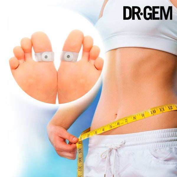DR GEM MAGNETIC SLIMMING RINGS (PACK OF 2)-Geeks Buy Gadgets