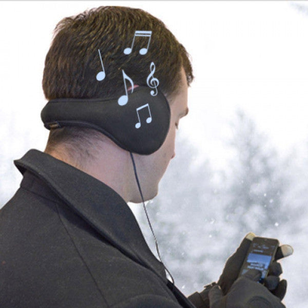 EARMUFFS WITH EARPHONES-Geeks Buy Gadgets