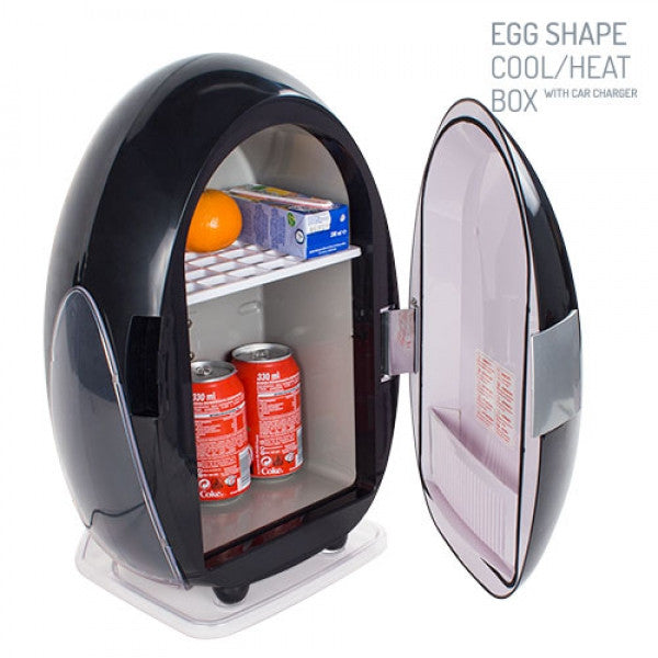 EGG SHAPE COLD/HEAT FRIDGE 10 L-Geeks Buy Gadgets