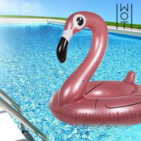 SUMMER WAGON TREND INFLATABLE FLAMINGO-Geeks Buy Gadgets