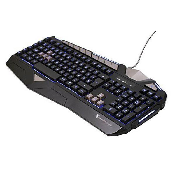 GAMING KEYBOARD AEROCOOL TK25 USB 1000 HZ BLACK-Geeks Buy Gadgets