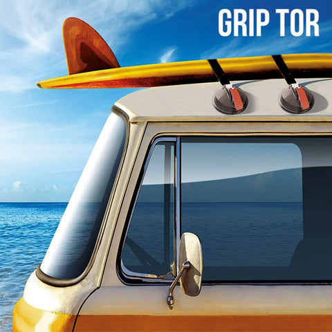 GRIP TOR SUCTION PADS FOR CAR ROOFS (PACK OF 2)-Geeks Buy Gadgets