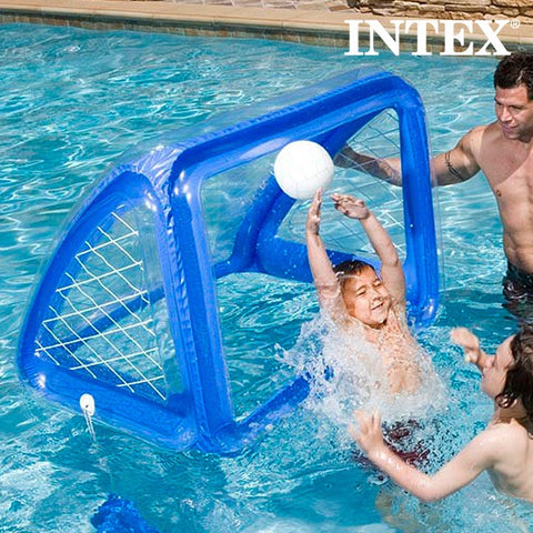 INFLATABLE GOAL AND BALL INTEX-Geeks Buy Gadgets