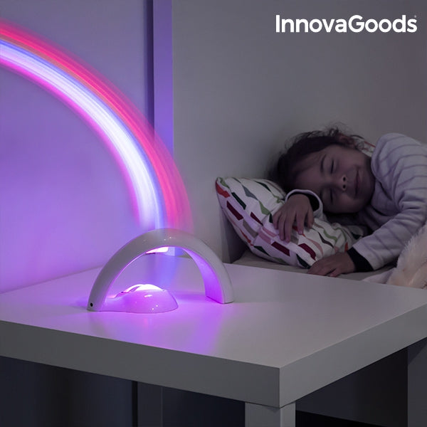 INNOVAGOODS RAINBOW LED PROJECTOR FOR CHILDREN-Geeks Buy Gadgets