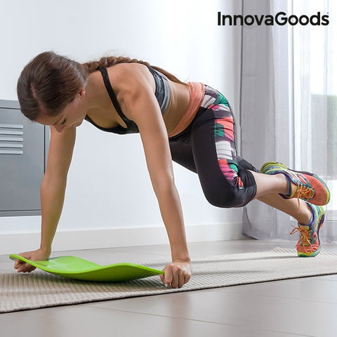 INNOVAGOODS SPORT FITNESS BALANCE BOARD WITH WORKOUT GUIDE-Geeks Buy Gadgets