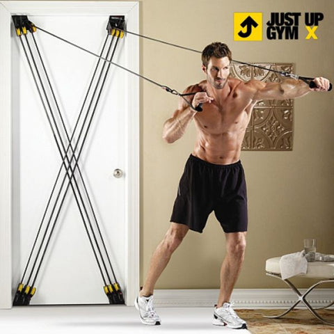 JUST UP GYM X CHEST EXPANDERS-Geeks Buy Gadgets