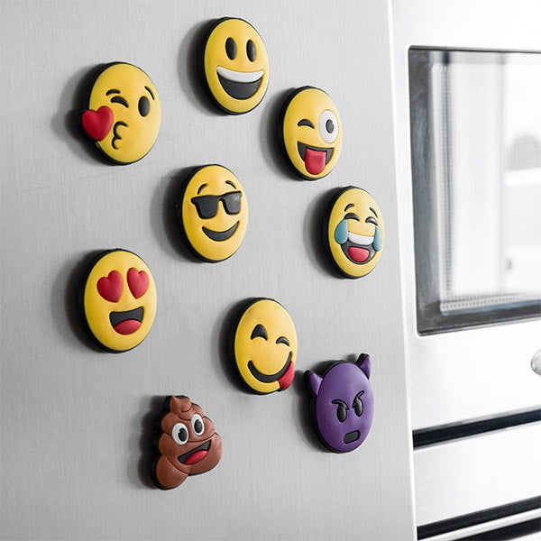 MAGNETIC EMOTICONS (PACK OF 9)-Geeks Buy Gadgets